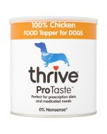 Thrive ProTaste 100% Chicken Food Toppers for Dogs 170g