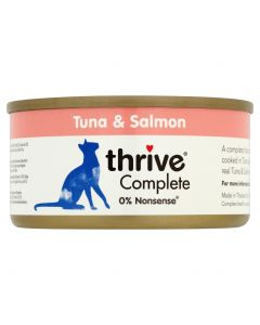 Thrive Complete 100% Tuna & Salmon 75g tin