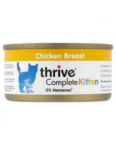 Thrive Complete Kitten 100% Chicken Breast 75g tin