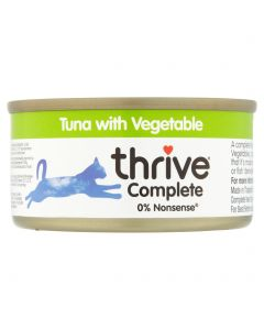 Thrive Complete Tuna with Vegetable 75g tin