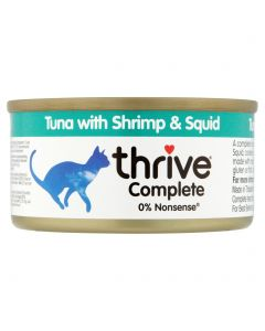 Thrive Complete Tuna with Shrimp & Squid 75g tin