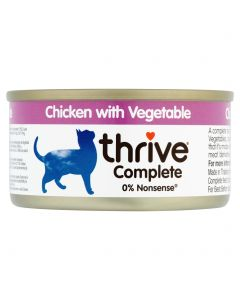 Thrive Complete Chicken with Vegetable 75g tin
