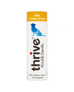Thrive Kind & Gentle 100% Chicken Dog Treats 25g Tube