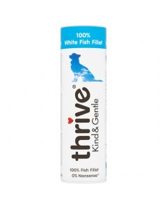 Thrive Kind & Gentle 100% White Fish Dog Treats 15g Tube