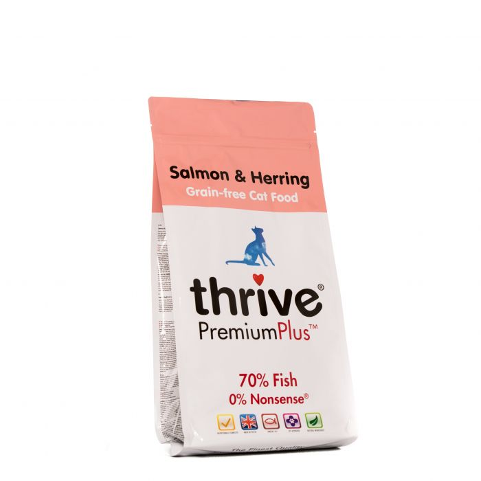 Thrive® PremiumPlus Salmon & Herring Complete Dry Food for Cats 1.5kg