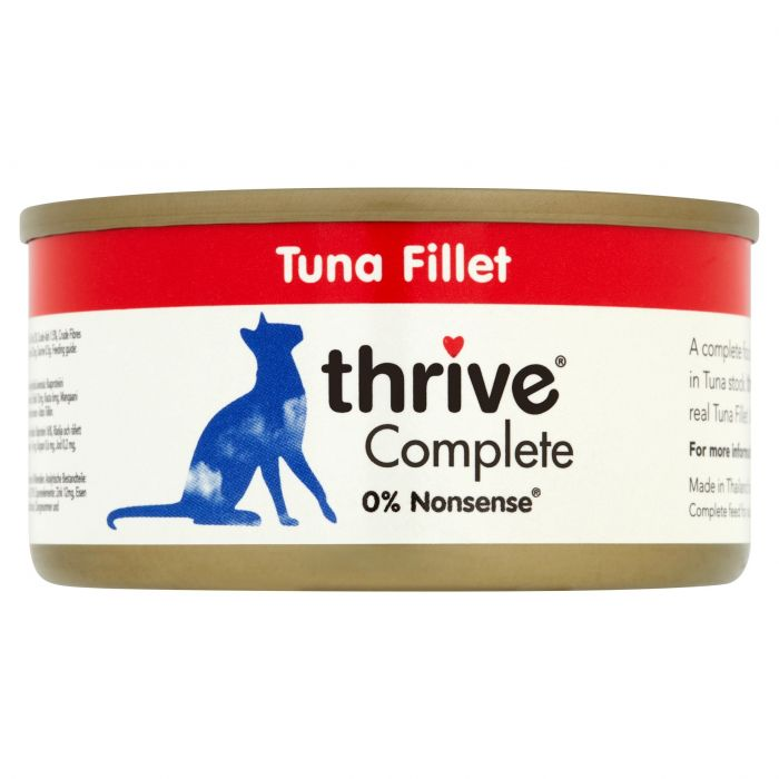 Thrive Complete 100% Tuna Fillet 75g tin